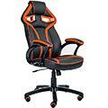 Merax Stylish Devil's Eye Series High-Back Gaming Chair PU Leather and Mesh