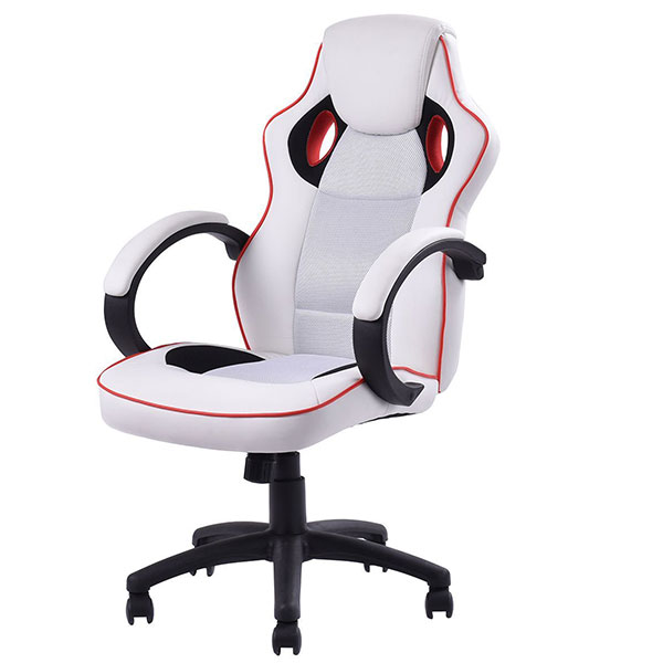 Giantex HW52417 Executive High-Back Swivel Racing Style Gaming Chair