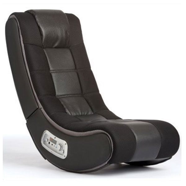 Ace Bayou Black V Rocker® 5130301 SE Wireless 2.1 Audio Gaming Chair