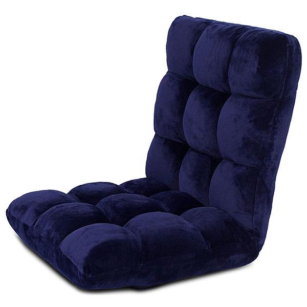 BirdRock Home 10189 14-Position Adjustable Memory Foam Floor Gaming Chair