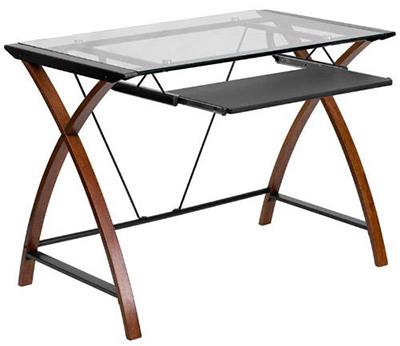 Flash Furniture Glass Computer Desk