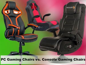 PC Gaming Chairs vs. Console Gaming Chairs; what's the Difference?
