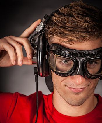 Wear the Headphones Correctly