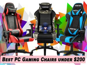 15 Best Gaming Chairs under $200