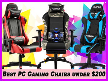 Fantastic 15 Best Gaming Chairs Under 200 Jul 2019 Reviews Customarchery Wood Chair Design Ideas Customarcherynet