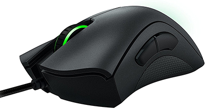 Razer DeathAdder Chroma - Multi-Color Ergonomic Gaming Mouse - 10,000 DPI Sensor