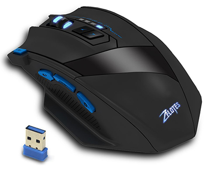 KingTop Rechargeable 2.4G Professional Computer Optical Game Mice