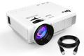 DR.J (Upgraded) 1800 Lumens Mini Projector