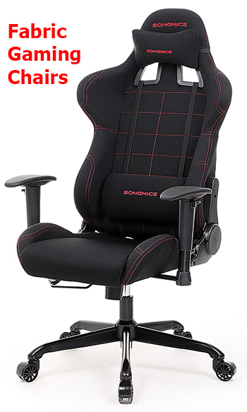 Fabric Gaming Chairs