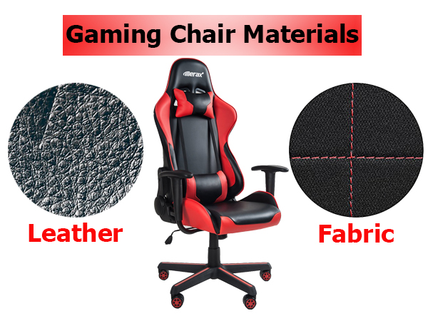 Gaming Chair Materials – Leather vs Fabric