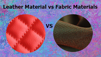 Fabric vs Leather