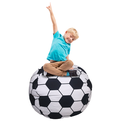 3 Feet Football Bean Bag Chair for Stuffed Toys by AUO