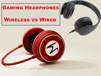 Gaming Headphones Wireless vs Wired