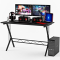 BHG Black Gaming Desk