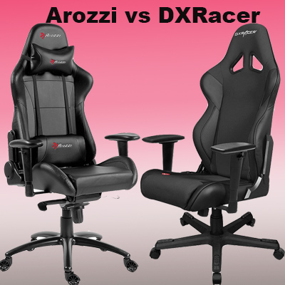 DXRacer vs AKRacing vs Arozzi - What's the best PC gaming chair