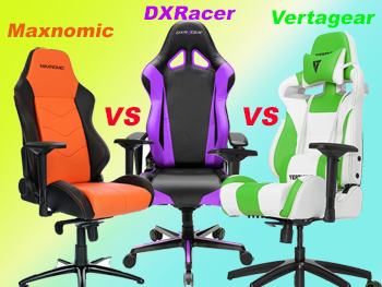 Maxnomic vs DXRacer vs Vertagear - Your Complete Guide to Buying