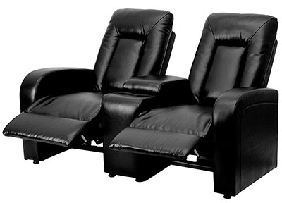 Flash Furniture Eclipse Series 2-Seat Recliners