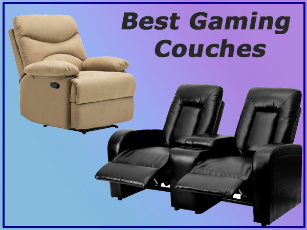 Best Gaming Couches for Playing Video Games